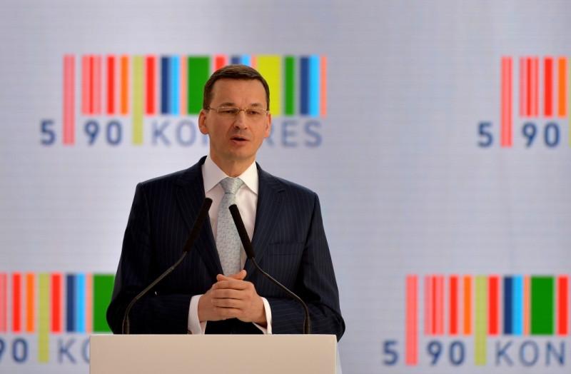 Wicepremier Mateusz Morawiecki Kongres 590